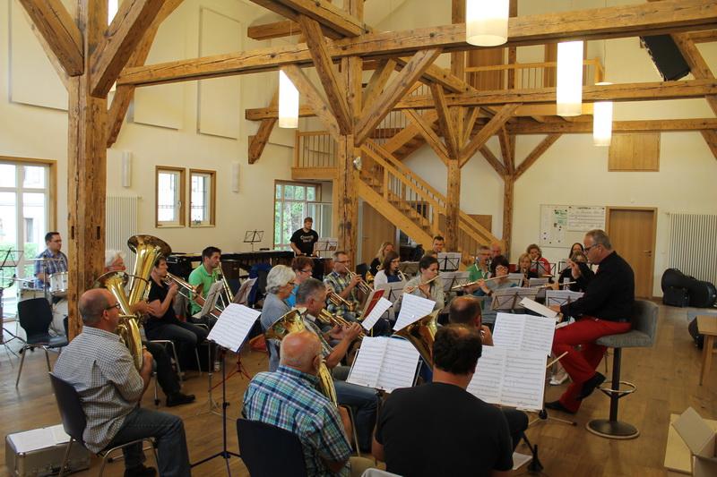 Projektorchester zum 40jährigen Jubiläum